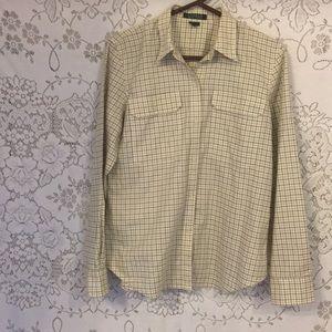 Ralph Lauren Women's Button Down Shirt NWOT Size L